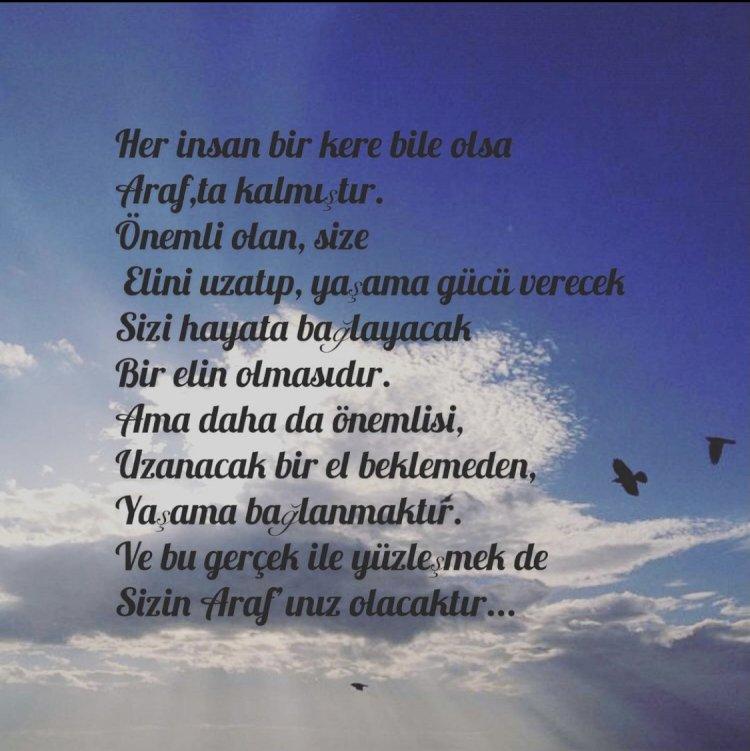 Araf…